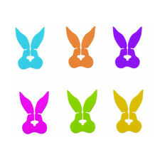 DCi Knotty Bunny Cute Silicone Flexible Cable Wire Organizers Cord Ties 6 Pack