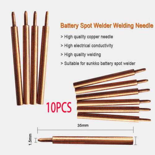 10pcs//Lot Spot Soudage PIN à souder aiguille pour 709 A 788 H 787 A Spot Welder machine