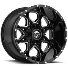 4 Scorpion Sc 10 20x9 6x1356x55 12mm Blackmilled Wheels Rims 20 Inch Fits More Than One Vehicle