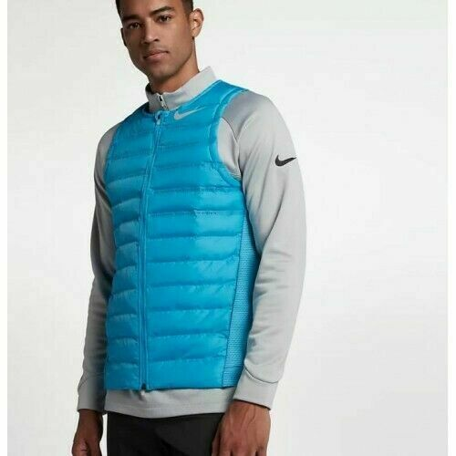 Men's Nike Golf Aeroloft Gilet Blue