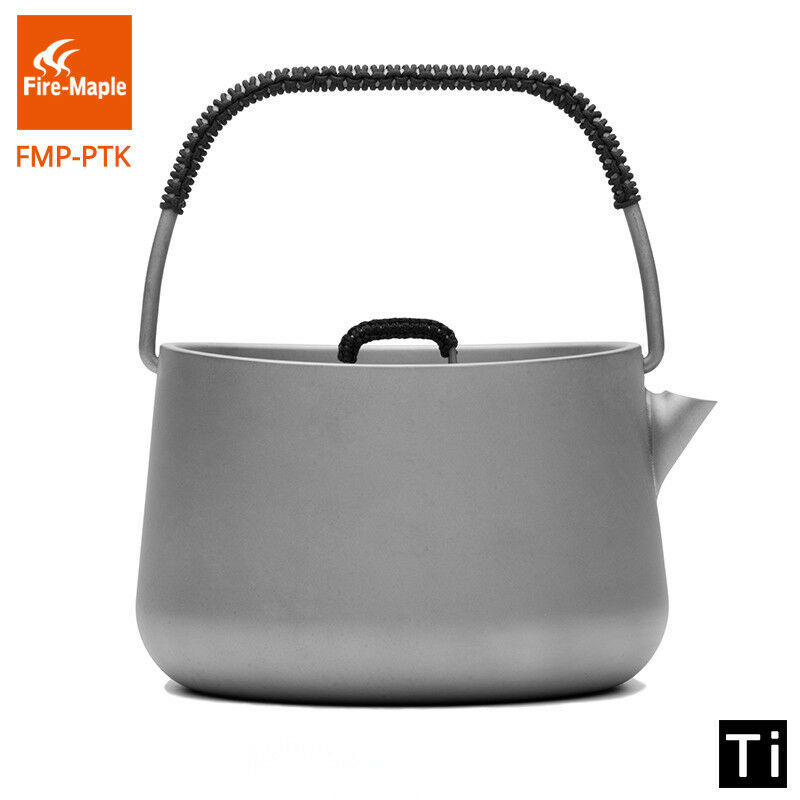 Fire Maple  Titanium Outdoor Camping Picnic Coffee Tea Pot 1L Teapot Kettle 185g  up to 50% off