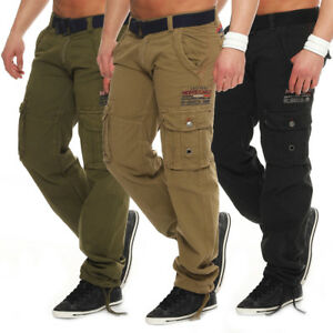Geographical-Norway-Herren-Padang-Cargo-Hose-Freizeithose-Militaer-Hose-Army