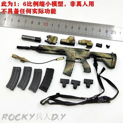 """EASY/&SIMPLE ES 26033R 1//6th French Special Forces G17 Model F 12/"""" Action"""