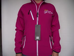 WOMANS-LADIES-SCANIA-PINK-BERRY-SOFTSHELL-JACKET-amp-EMBROIDERED-LOGOS-STYLE-2