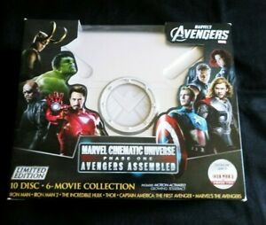 BOX-amp-CASE-ONLY-MARVEL-CINEMATIC-UNIVERSE-PHASE-ONE-MCU-Avengers