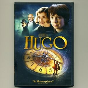 Hugo-2011-PG-movie-mint-DVD-Martin-Scorsese-Academy-Awards-5-Oscars-Kingsley
