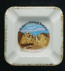 Old 1950s Mount Rushmore Souvenir Little Ceramic Pitcher