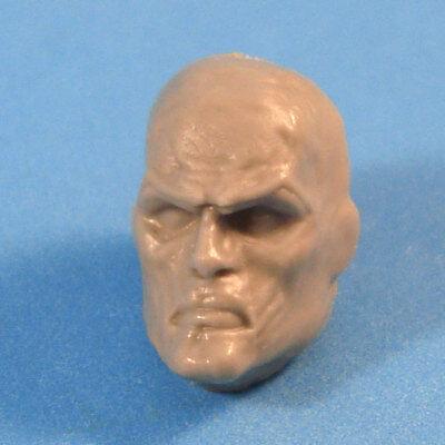 """MH133 Custom Cast Male head for use with 3.75/"""" GI Joe Star Wars Marvel figures"""