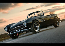 AMAZING BMW 507 1957 NEW A1 CANVAS GICLEE ART PRINT POSTER FRAMED