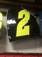 Jeff Gordon Race Used Roof NASCAR Sheetmetal 2013 Drive for Hunger