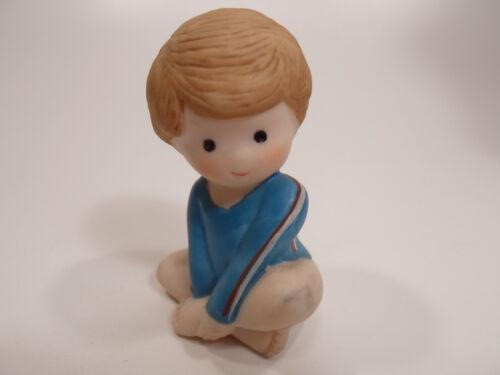 Details about  /Country Cousins Figurines Enesco Vintage Porcelain little gymnist gymnastics