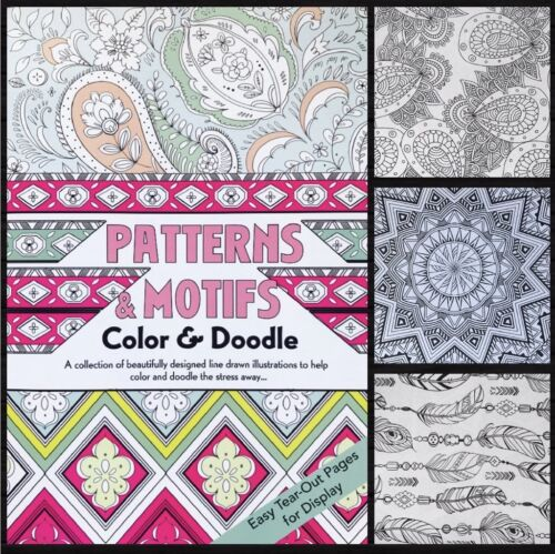 Printed in USA Nature Adult Coloring Book Mandala Patterns 112 Pages per book