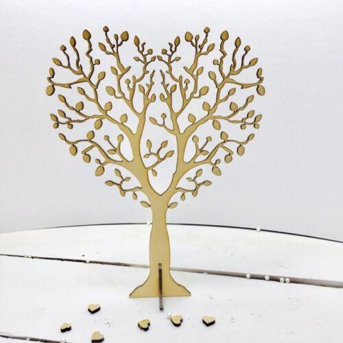 Cœur des arbres avec des racines ou autonome 4 mm MDF Artisanat-Parfait Boîte cadres