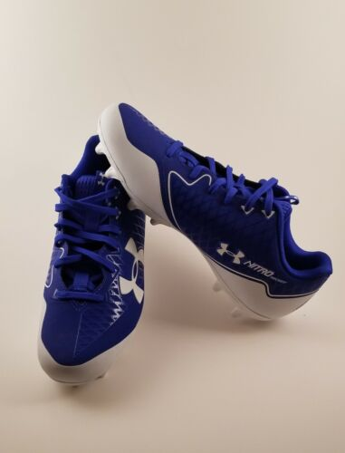 5 Select white Armour Royal Blue Mens Nitro Low Us 6 Under Cleats SYPtw