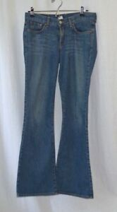Lucky-Brand-Women-039-s-Jeans-Rider-Fit-Relaxed-Dungarees-Blue-Denim-Size-4-27-GUC