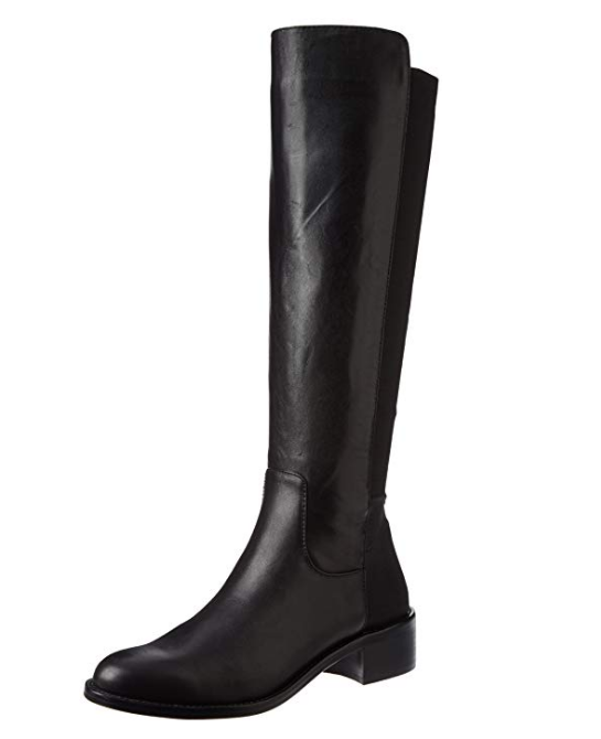 A5309 A5309 A5309 Women's BCBGeneration Jericho Black Silky Leather Elastic Tall Boot US 9 M d33bcf