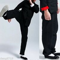 Bruce Lee Chinese Wing Chun Kung Fu Trousers Pants Martial Arts Costume Dress