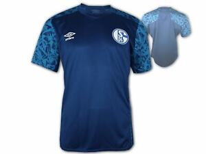 Umbro-Schalke-04-Training-Jersey-20-21-S04-Fussball-Trikot-Fanartikel-blau-S-3XL