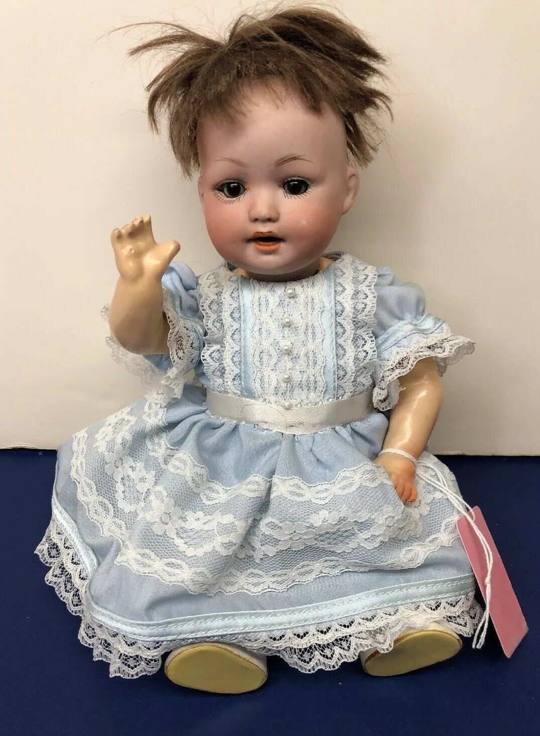 "10"" Antique A&M Germany Bisque 914 Baby Armand Marseille Repro Compo Body  S"