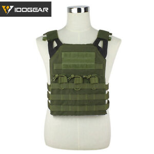 IDOGEAR-Tactical-Vest-JPC-Plate-Carrier-Paintball-Protector-MOLLE-Airsoft-Gear