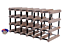 24-21-Bottle-Timber-Wine-Rack-NATURAL-PINE-Borders-Original-Free-Postage