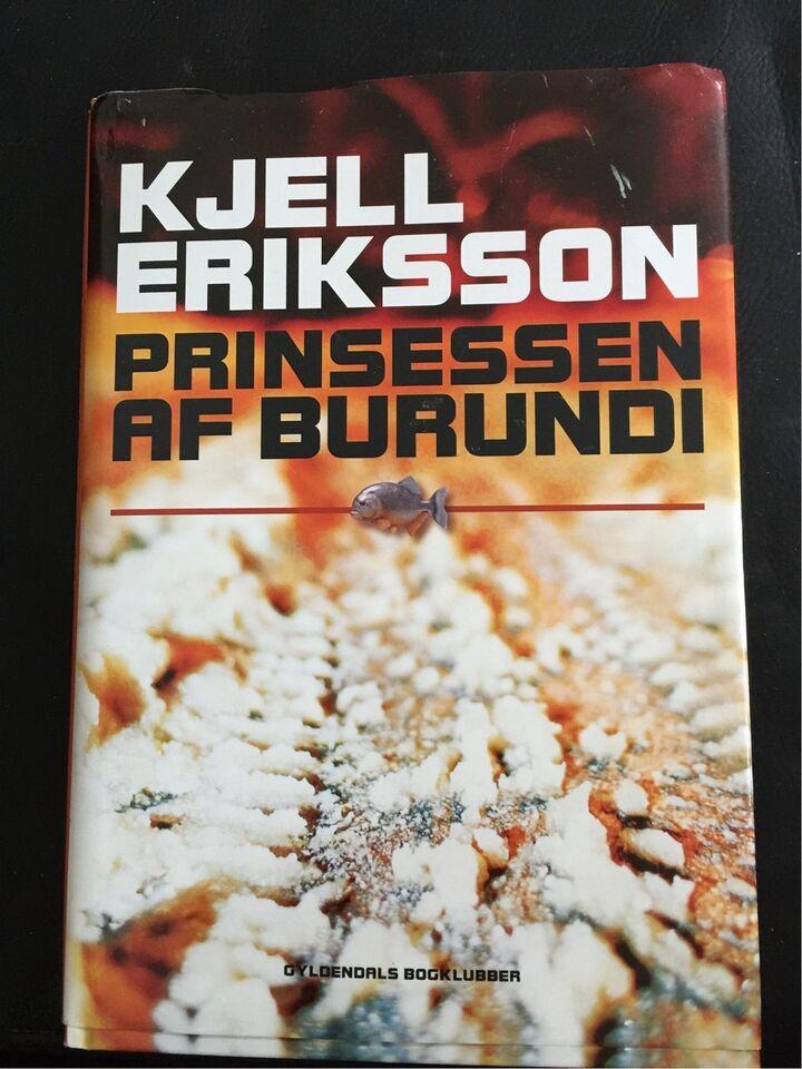 Prinsessen af Burundi, Kjell Eriksson, genre: krimi og