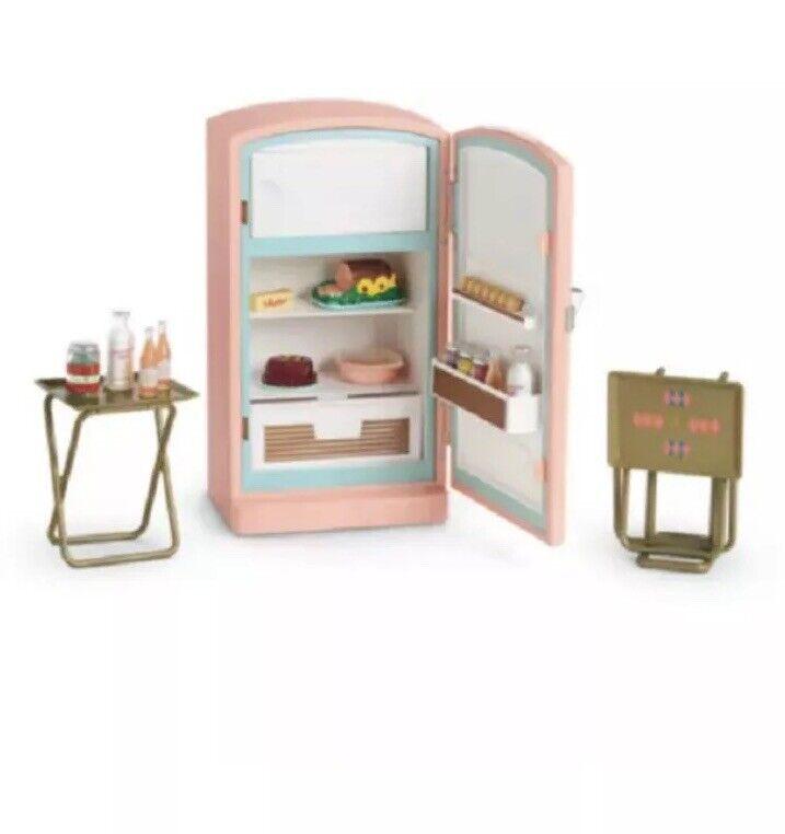 American Girl Doll Maryellen's Fridge Refridgerator NEW   Refrigerator