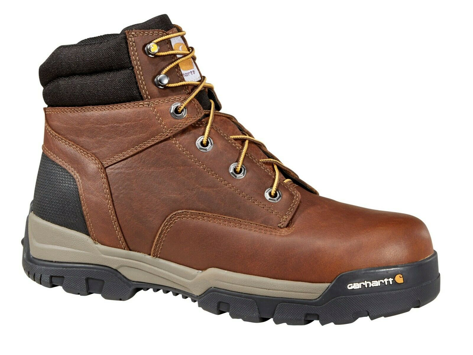 Carhartt CME6354 Uomo Uomo Uomo Ground Force 6  Composite Toe Work stivali Leather scarpe 015b1f
