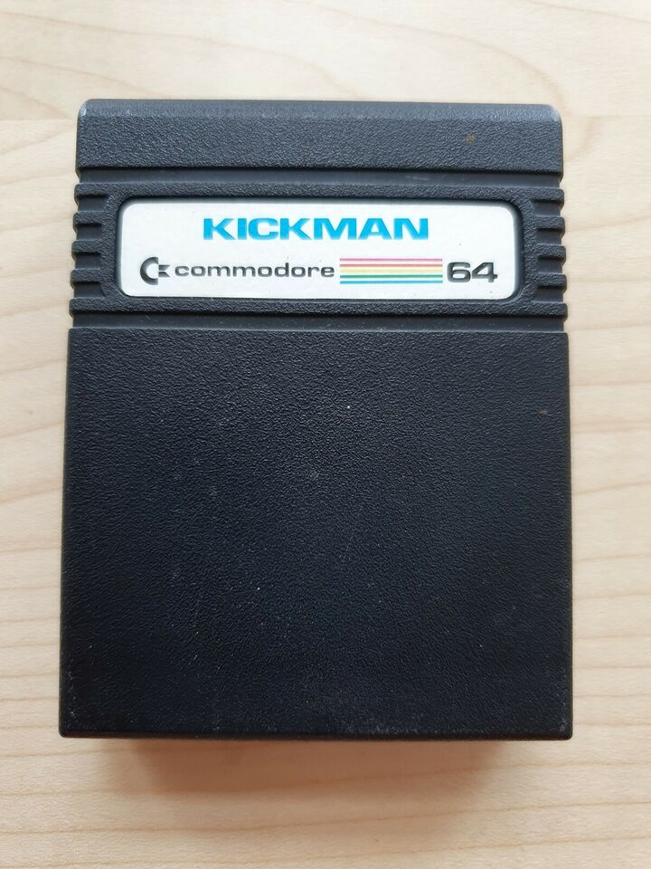 Kickman [Cartridge], Commodore 64