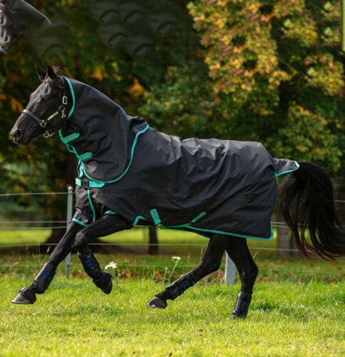 Disc Front Horseware Amigo Hero 900 Plus Medium 200g in Black//Teal/&Dark Cherry