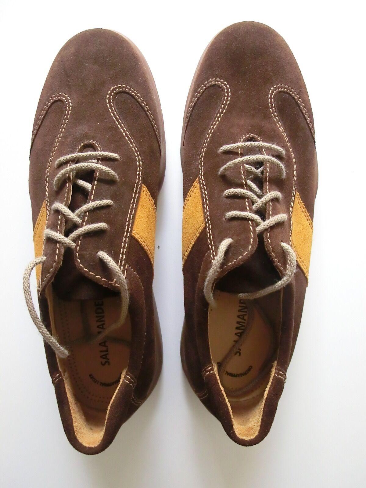 Salamander Herren Halbschuh Sneaker braun Größe 8