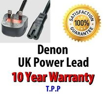 NEW UK Power Lead Cable Cord For Denon Ceol Piccolo RCD-N5 -N7 -N8 -M38 -M39