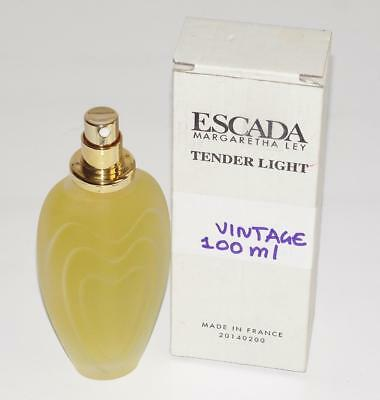 ESCADA-MARGARETHA LEY *TENDER LIGHT* NEW IN BOX~VINTAGE TESTER~100 ml/ 3.4 fl oz