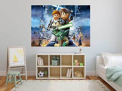 LEGO STAR WARS  Poster Grand format A0 Large Print ROOM KIDS