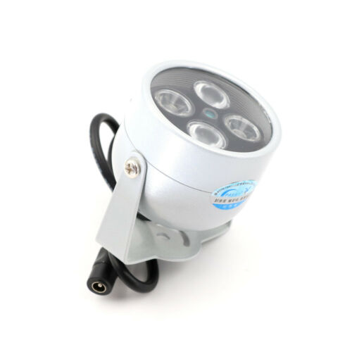 4 Array IR LED Illuminator Light Infrared Night Vision CCTV Fill Light Camera  X