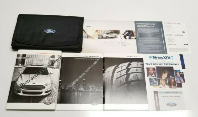 2017 Ford Escape S Se Titanium Sport I4 V4 Owners Manual Manual Guide