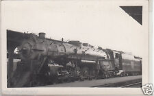 RPPC - C.B.&Q. Railroad Locoomotive - Denver - 1940