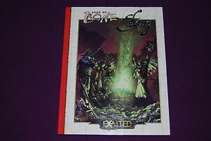 EXALTED-EXALTES-RPG-JDR-Jeu-de-Role-The-Book-of-Bone-and-Ebony