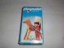 Playmobil Klicky 3351 Indianer mit  Pferd Bogen Pfeile 70er 80er Jahre OVP