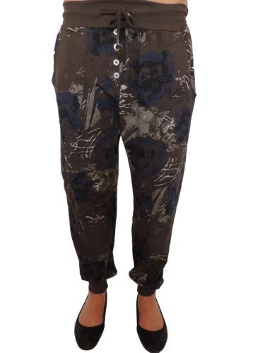 Femmes Pantalon De Training Taille 44 46 48 50 52 Grande Taille Jogging Pantalons Pantalon Batik 38