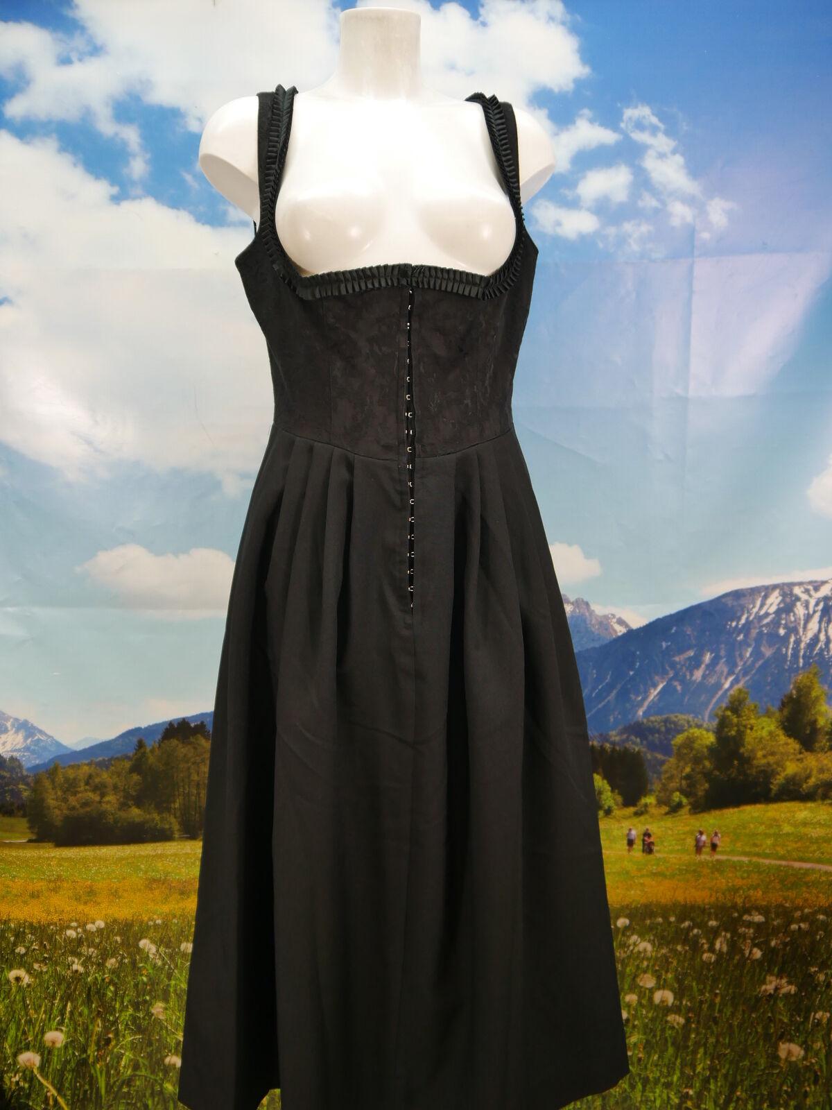 Fete Noir Couleurs Balkonett magnifique vintage du Sans Tablier Taille 42