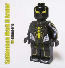 LEGO Custom -- Spiderman Mark II 2 Armor -- Marvel Superheroes iron man spider