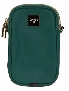 CINQUE-Mio-Phone-Crossbag-Umhaengetasche-Tasche-Green-Gruen-Neu