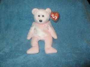 TY Beanie Baby -  CURE the Pink Bear (Breast Cancer Awareness Bear) (9 inch)