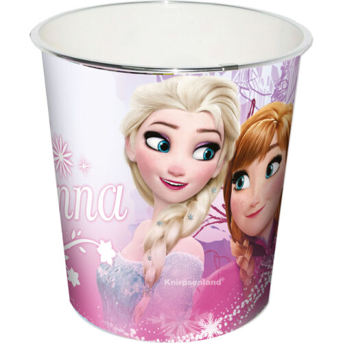 Papierkorb Papiereimer Frozen Elsa Kinder Abfalleimer Mülleimer Eimer Disney
