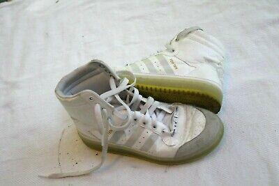 Adidas Juniors HI Top Ten Hi Yoda Star Wars Shoes Size 4.5 Glow in the Dark | eBay