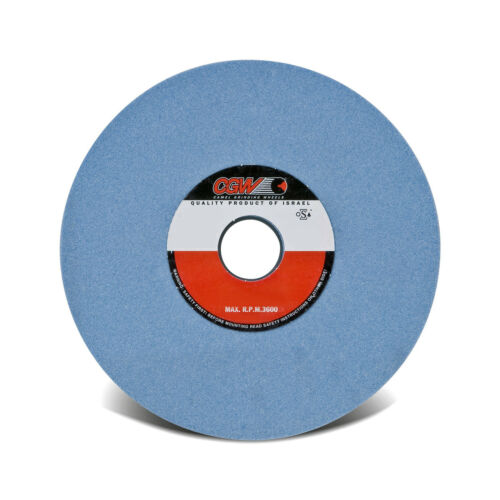 "8/""x1//2/""x1-1//4/"" 80 Grit Blue A//O Type 1 Grinding Wheel AZ80-K8-V32A CGW #34358"