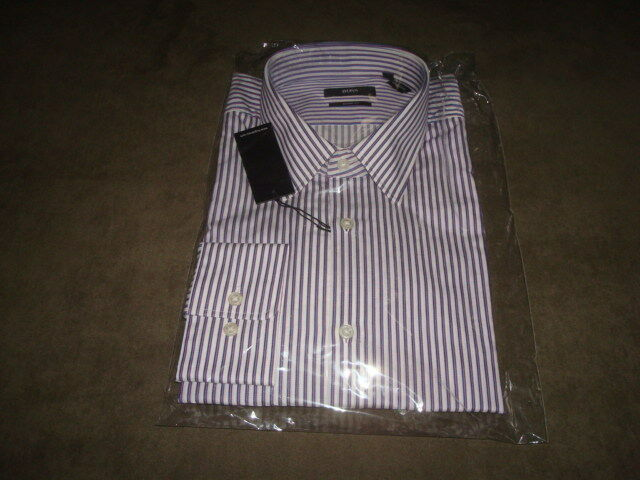 BOSS HUGO BOSS LONG SLEEVE DRESS SHIRT 17, 32-33