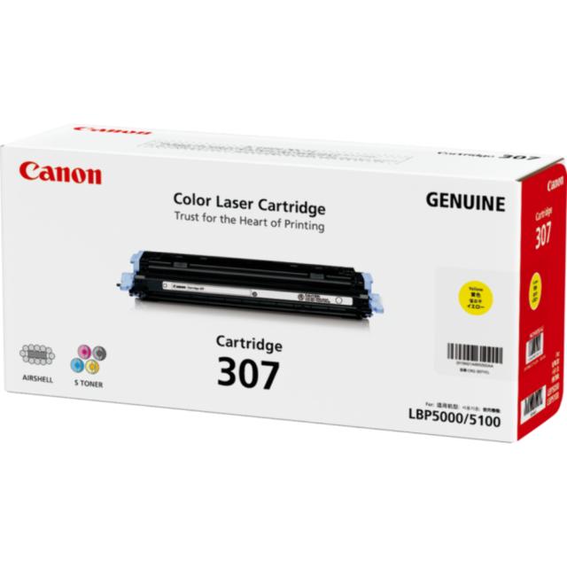 Genuine Canon Cart 307 Magenta toner cartridge for LBP5000, LBP5100 printers