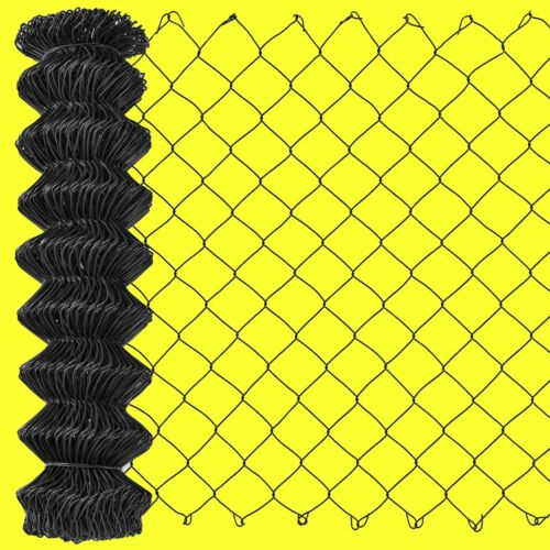 Maschendrahtzaun-Rolle 80cm 15 m anthrazit-schwarz Maschendraht-Zaun Draht 80 cm